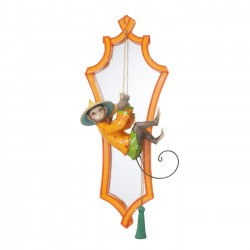 Mirror Monkey Orange 53x21cm Kare Design