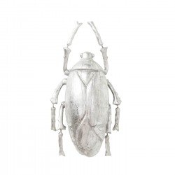 Wall Decoration Plant Beetle Silver Kare Design
