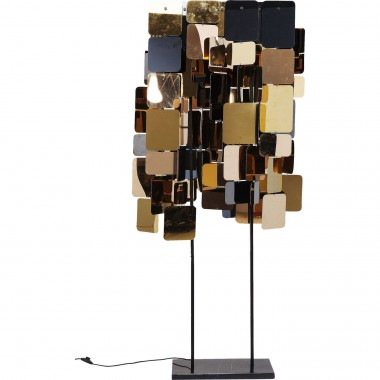 Floor Lamp City Nights Squares 70cm Kare Design
