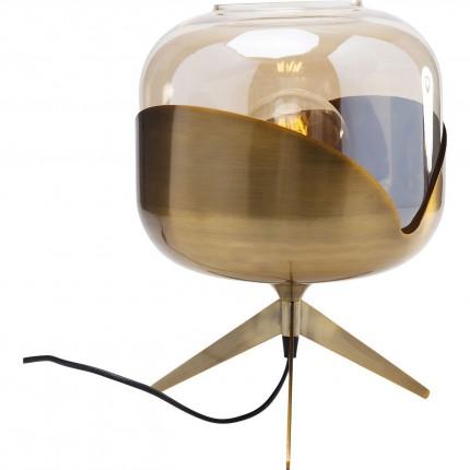 Table Lamp Golden Goblet Ball Kare Design