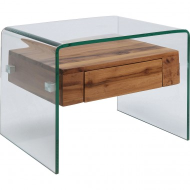 Table d'appoint Modern Nature 52x44cm Kare Design