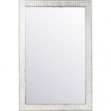 Mirror Crystals Steel Gold 120x80cm Kare Design