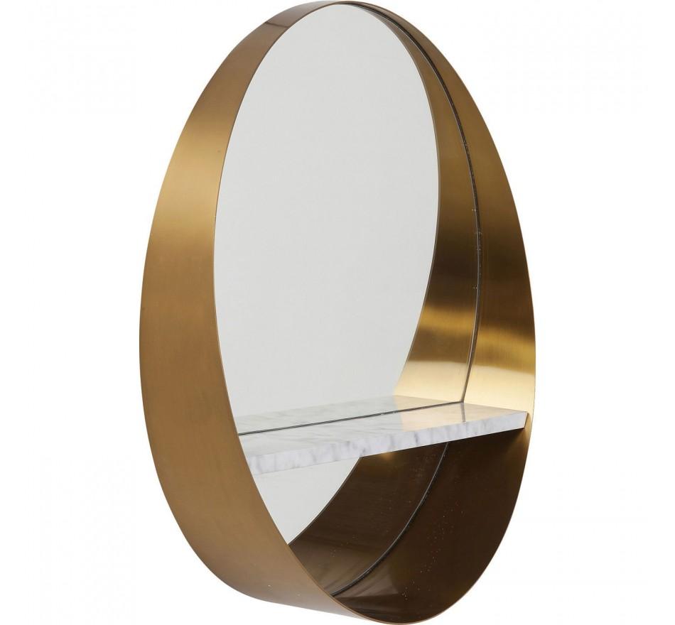 Mirror Hipster Shelf  Ø65cm Kare Design