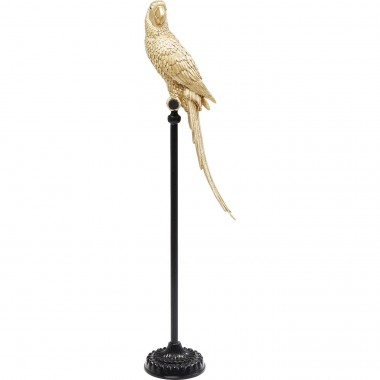 Deco Figurine Parrot Gold Kare Design
