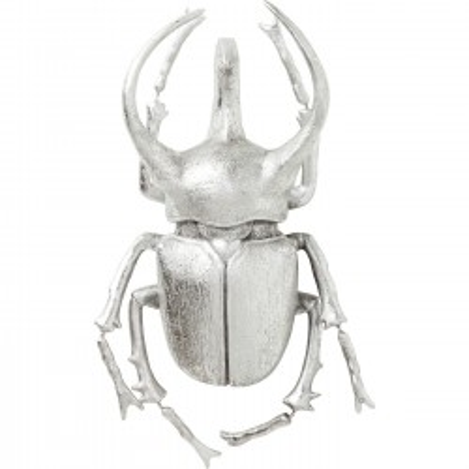 Wall Decoration Atlas Beetle Silver Kare Design