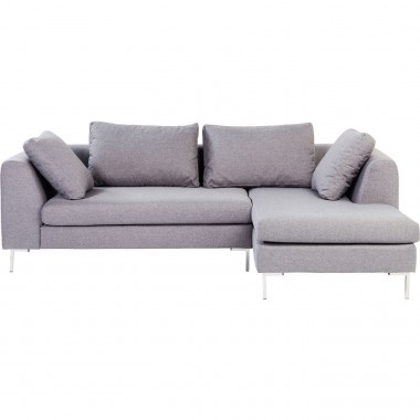 Corner Sofa Gianni Small Grey Right Kare Design