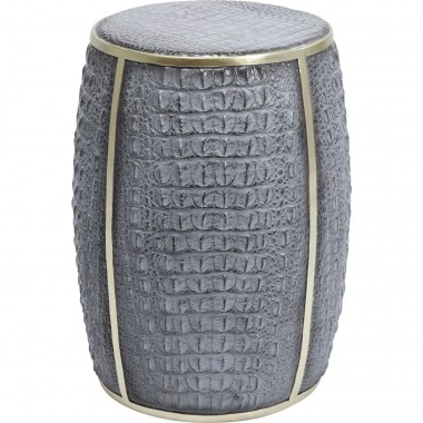 Side Table Croco Grey 46cm Kare Design