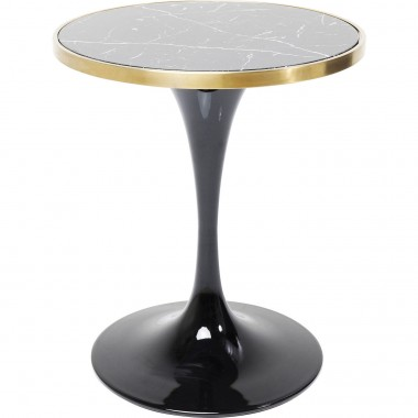 Table San Remo Black Round Ø62cm Kare Design
