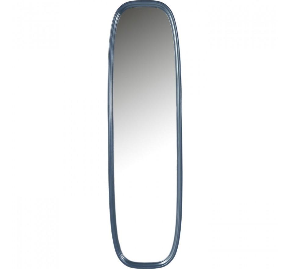 Miroir sur pied Salto pétrole 165x45cm Kare Design