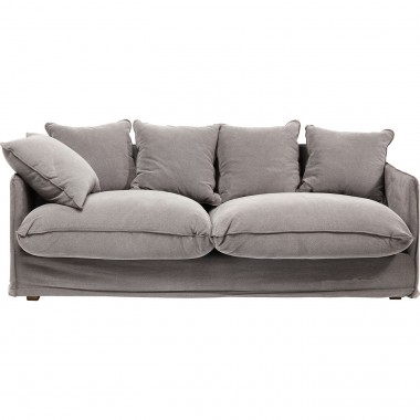 Sofa Santorini Grey 3-Seater Kare Design
