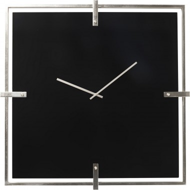 Horloge murale Black Mamba Chrome