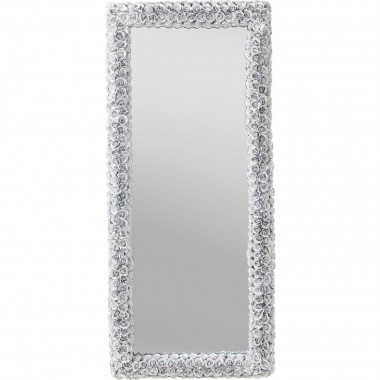 Mirror Rose Rectangular White 180x80cm Kare Design