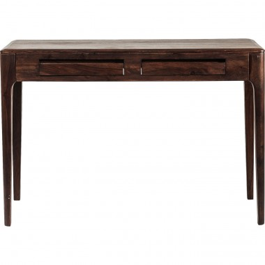 Brooklyn Walnut Console Laptop Desk 110x40cm Kare Design