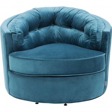 Armchair Music Hall Turquoise Kare Design