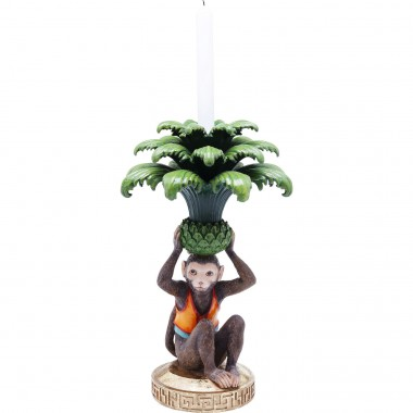 Candle Holder Monkey Palm Kare Design