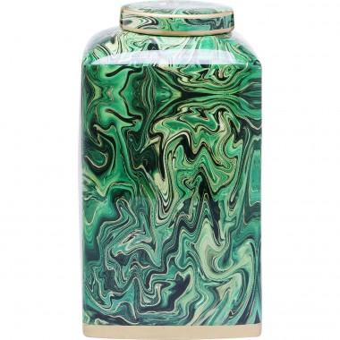 Deco Jar Malachite 28cm Kare Design