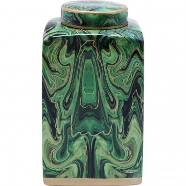 Deco Jar Malachite 42cm Kare Design