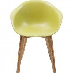 Chair with Armrest Forum Scandi Object Green Kare Design