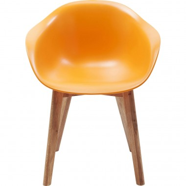 Chair w. Armrest Forum Scandi Object Orange Kare Design