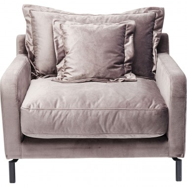 Armchair Lullaby Taupe Kare Design