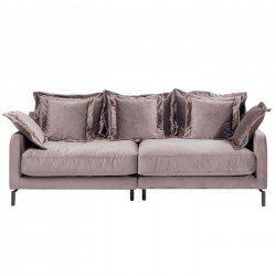 Sofa Lullaby 2-seater Taupe Kare Design