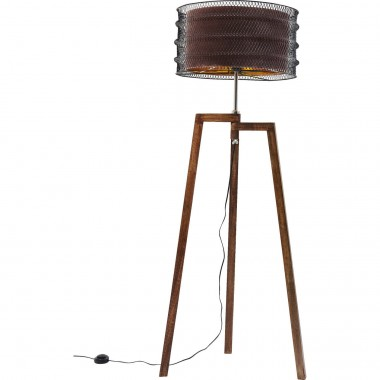 Floor Lamp Wire Tripod Mocca Kare Design