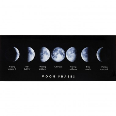 Picture Glass Mond Phase 70x180cm Kare Design