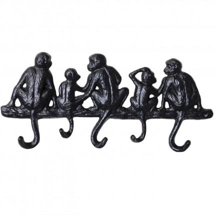 Wand kapstok Monkey Family kleine Kare Design