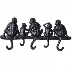 Coat Rack Monkey Family Small Kare Design