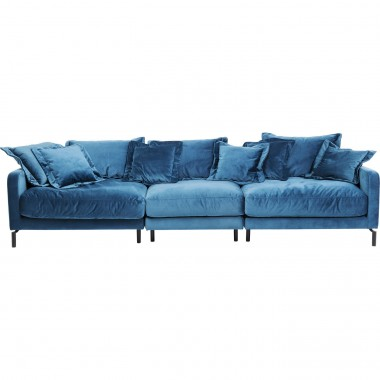 Sofa Lullaby 3-seater Bluegreen Kare Design