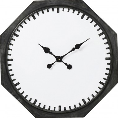 Wall Clock Octagon Ø66cm Kare Design