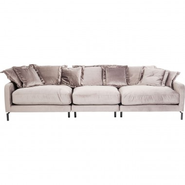 Sofa Lullaby 3-seater Taupe Kare Design