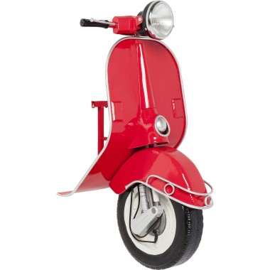 Wall Lamp Scooter Red Econo LED Kare Design