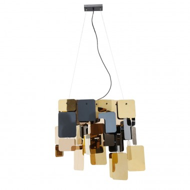 Pendant Lamp City Nights Squares Kare Design
