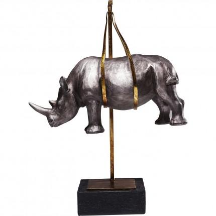 Deco Figurine Hanging Rhino Kare Design