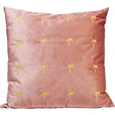 Cushion Palms Mauve 45x45cm Kare Design