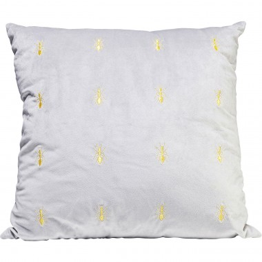 Cushion Ants Grey 45x45cm Kare Design