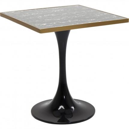 Table San Remo Schwarz Square 72x72cm Kare Design