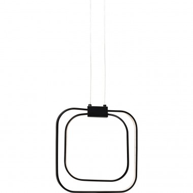 Pendant Lamp Cubes Black LED Kare Design