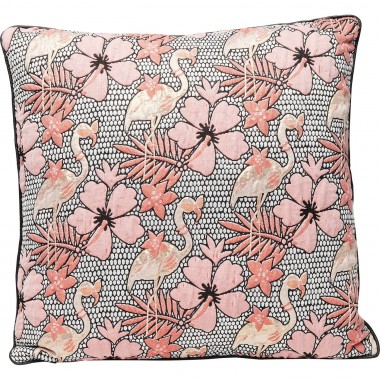 Cushion Flamingo Flowers 45x45cm Kare Design
