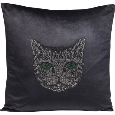 Cushion Cat Face 45x45cm Kare Design