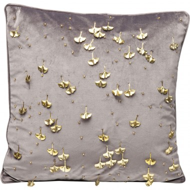 Cushion Ginkgo Grey 45x45cm Kare Design