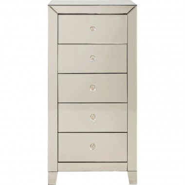 Cabinet Luxury Champagne 5 Drawers Kare Design