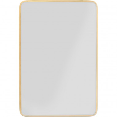 Mirror Jetset Square Gold 94x64cm Kare Design