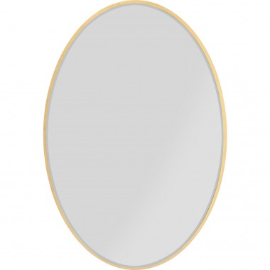 Mirror Jetset Oval Gold 94x64cm Kare Design