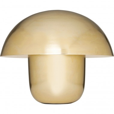 Table Lamp Mushroom Brass Kare Design