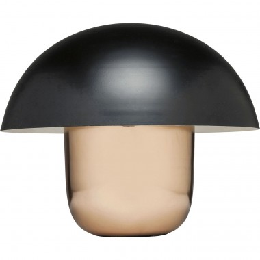 Table Lamp Mushroom Copper-Black Kare Design