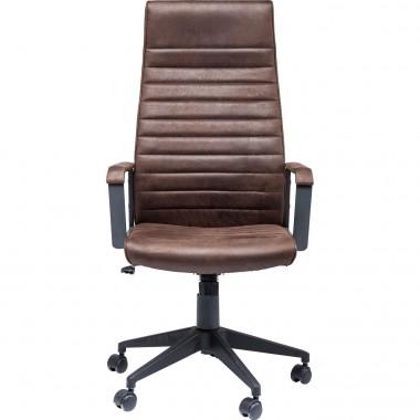 Office Chair Labora High Brown Kare Design