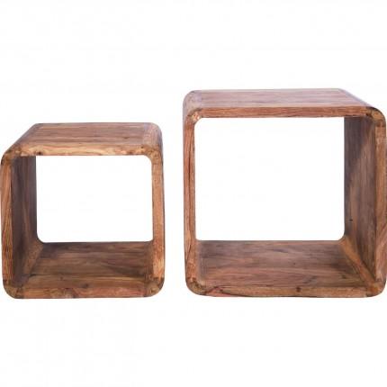 Authentico Cube Square (2/Set) Kare Design