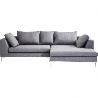 Corner Sofa Gianni Grey Right Kare Design